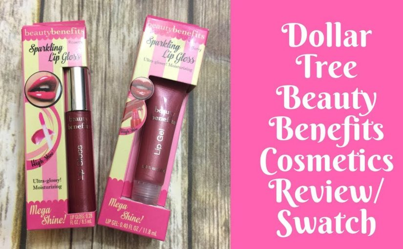 Product Reviews: Dollar Tree Beauty Benefits Makeup Review/Swatches